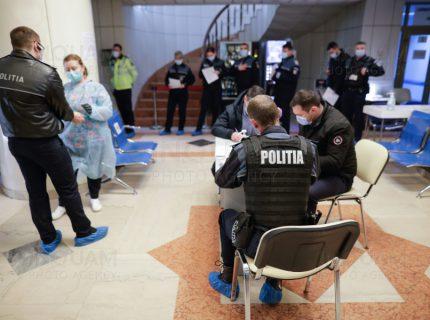 vaccinare politisti